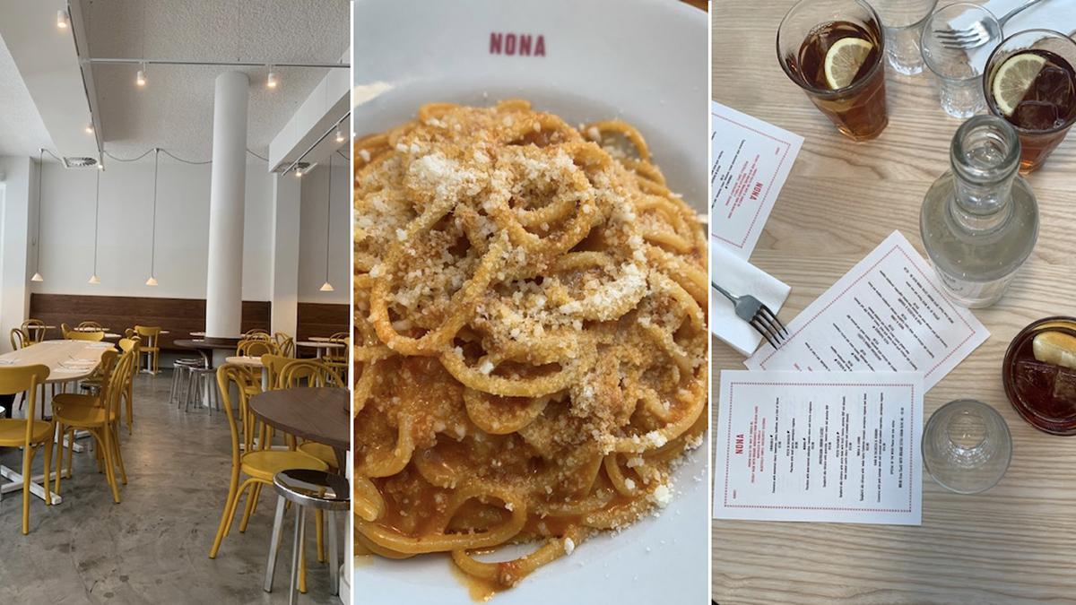 Nona Pasta restaurant Brussel