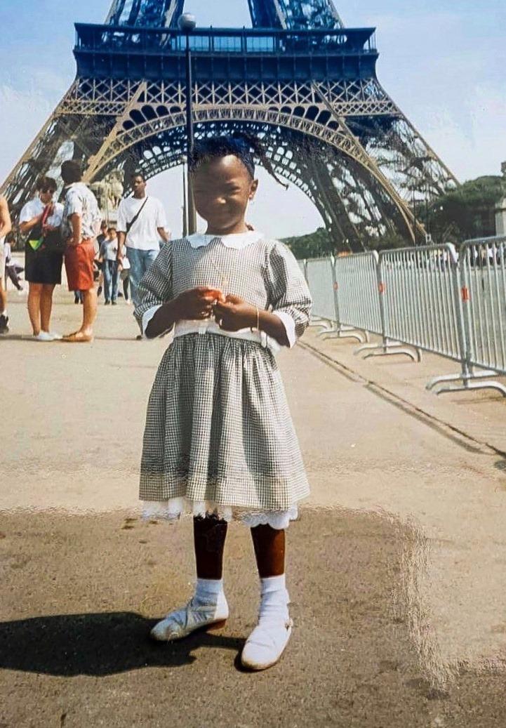 L'instantané: Cécile Djunga nous raconte sa photo d'enfance