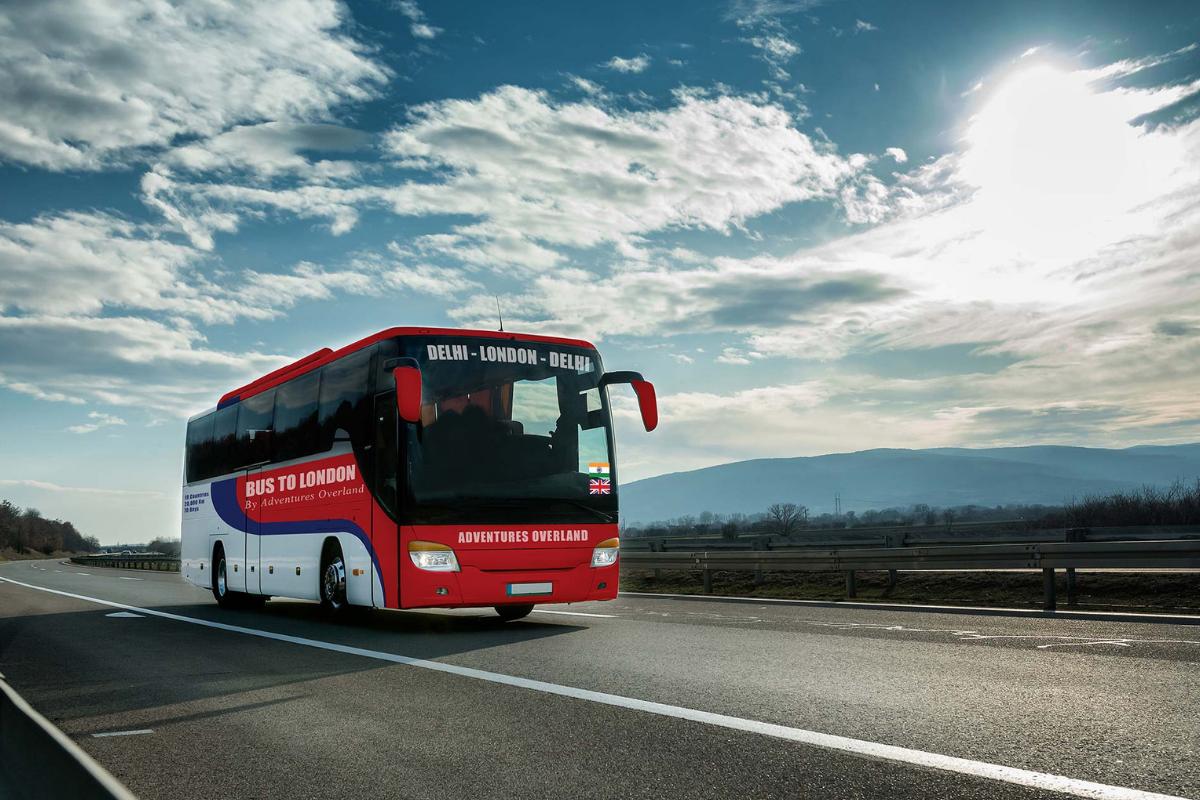 Un bus va relier Londres à l'Inde en passant par Bruxelles