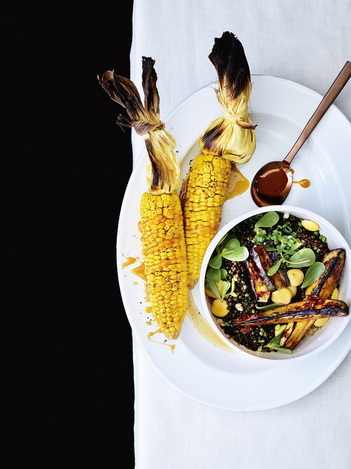 recept met aubergine
