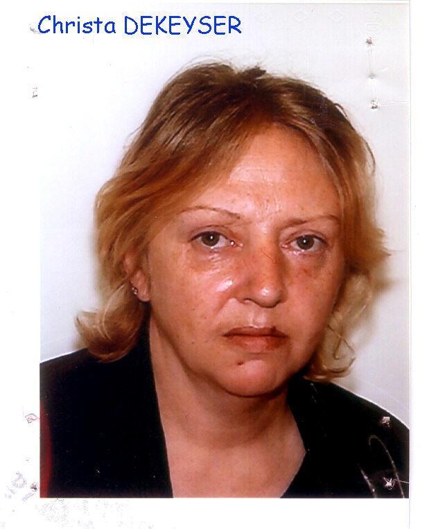 Slachtoffer Christa Dekeyser (47)