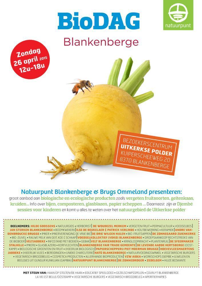Op de biomarkt is er een groot aanbod biologische en ecologische producten.