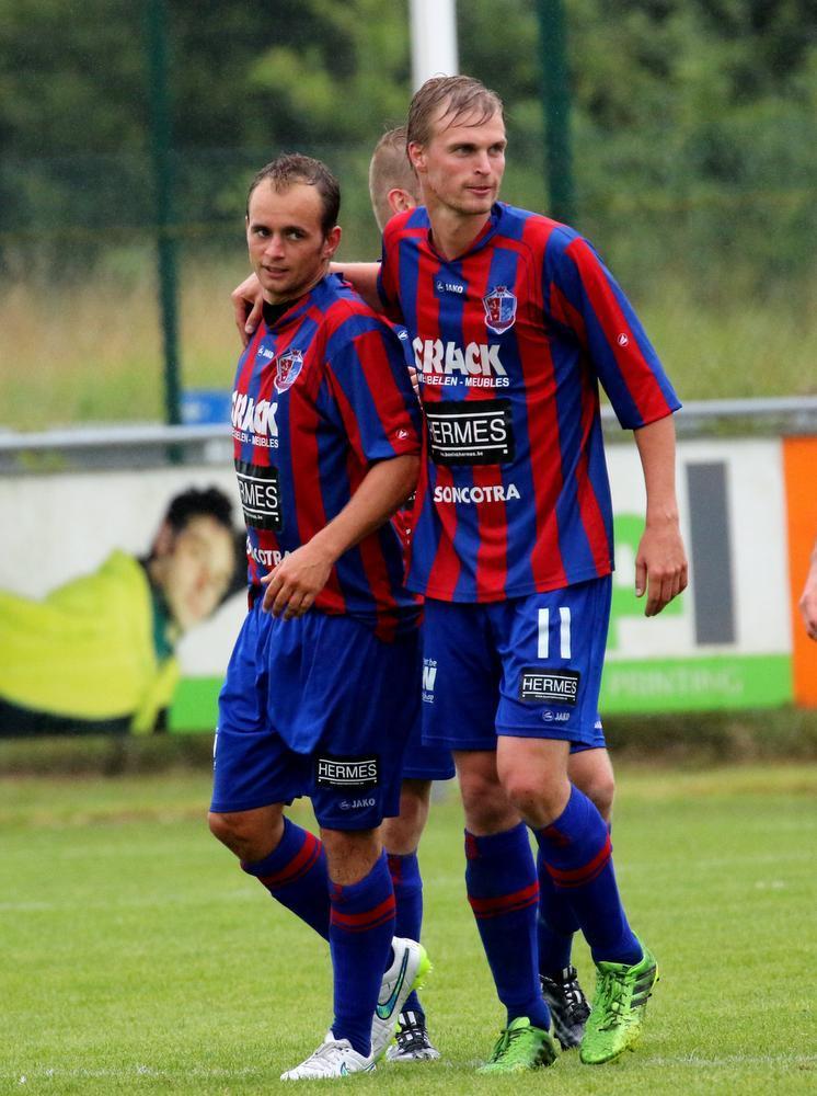 Matthias Feys (links) bij Jordi Rico