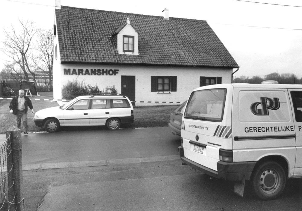 Het landelijk gelegen rendez-vouscafé Maranshof in Torhout.
