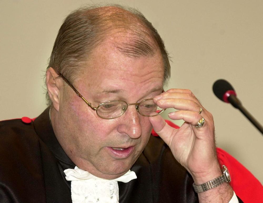 Assisenvoorzitter Boudewijn Desmet.