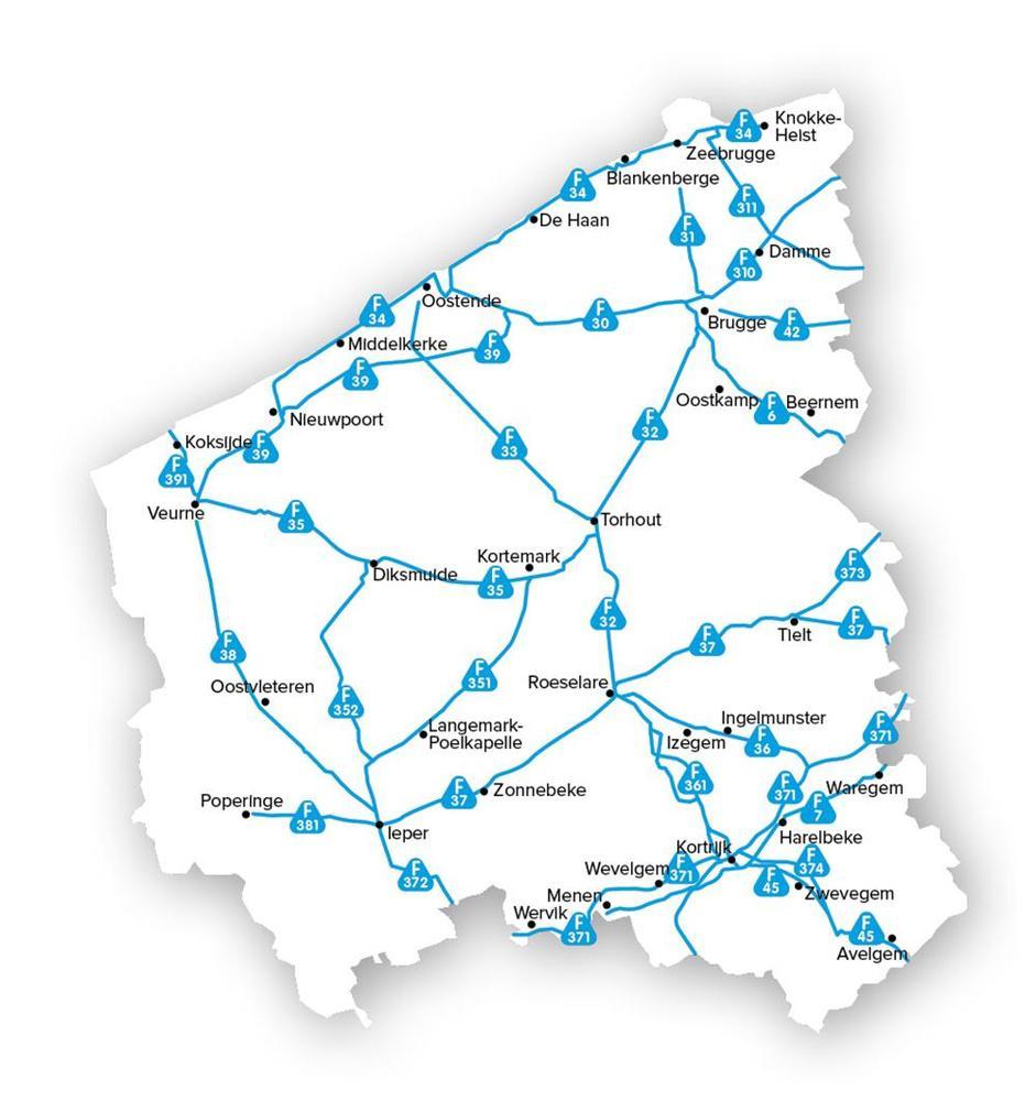 562 kilometer fietssnelwegen op papier, nog geen 200 kilometer die naam waardig