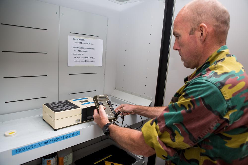 De detectieapparaten die meegaan op missie moeten heel precies kunnen meten.