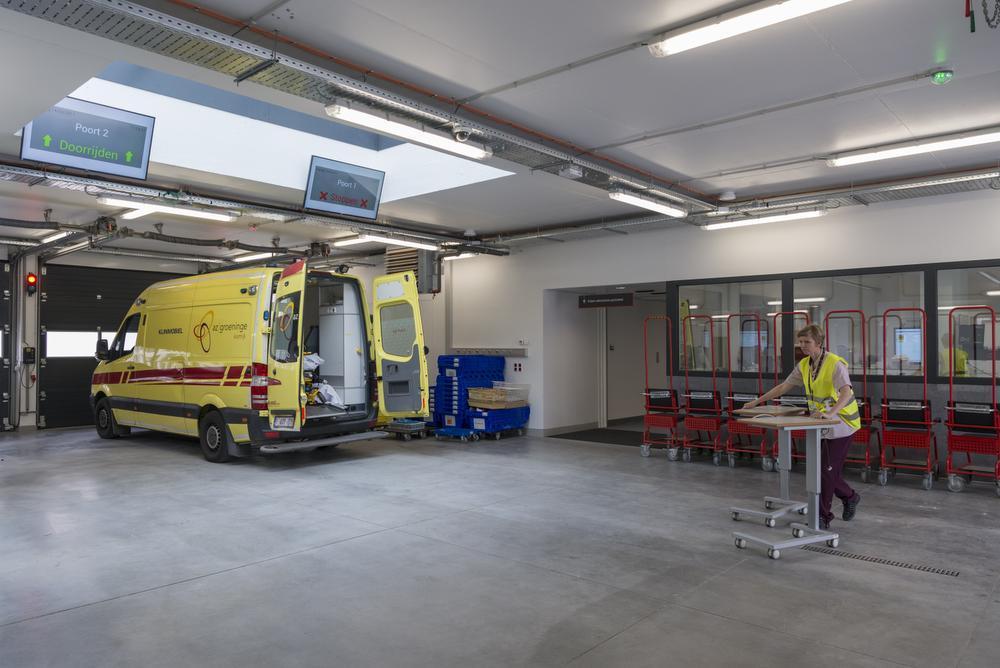 Spoedgevallendienst AZ Groeninge is verhuisd: