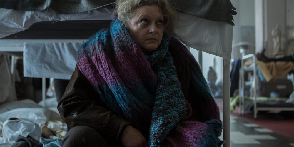 Ingrid Devos speelt de bomma van het Oostends gezin.