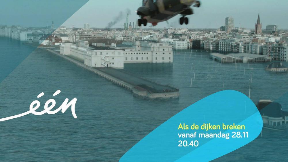 Oostende onder water...