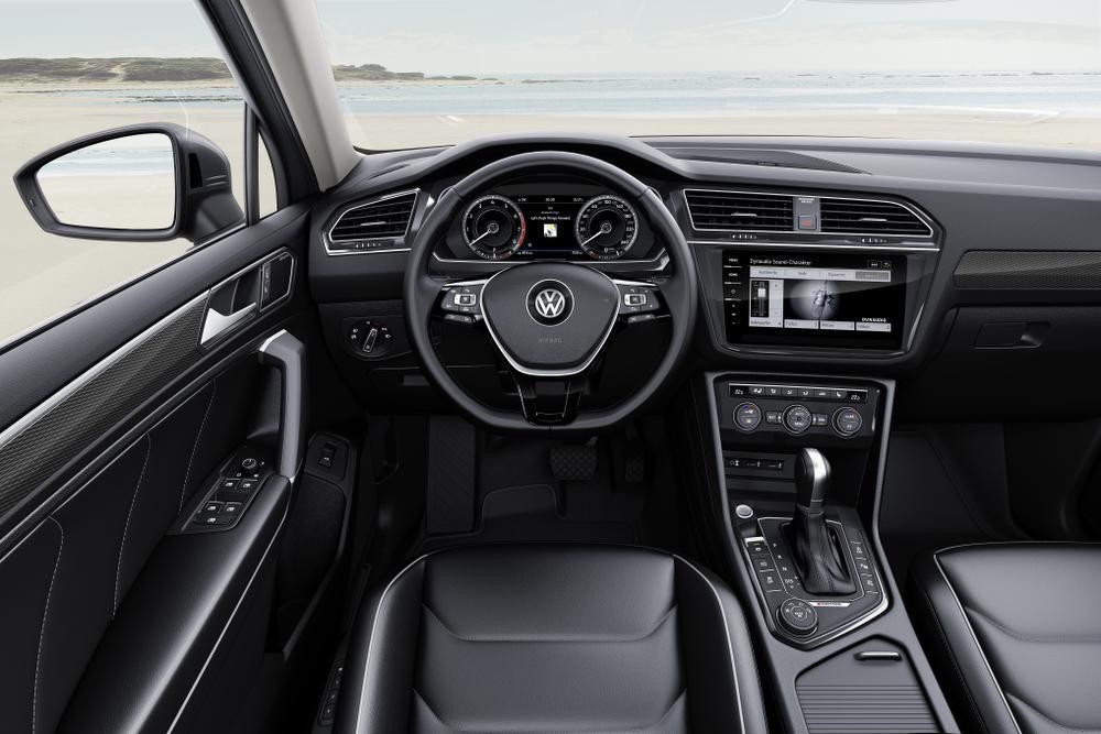 Zee van ruimte in VW Tiguan Allspace