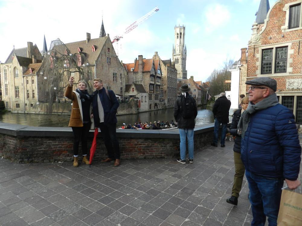 Scoor met Brugge op Instagram