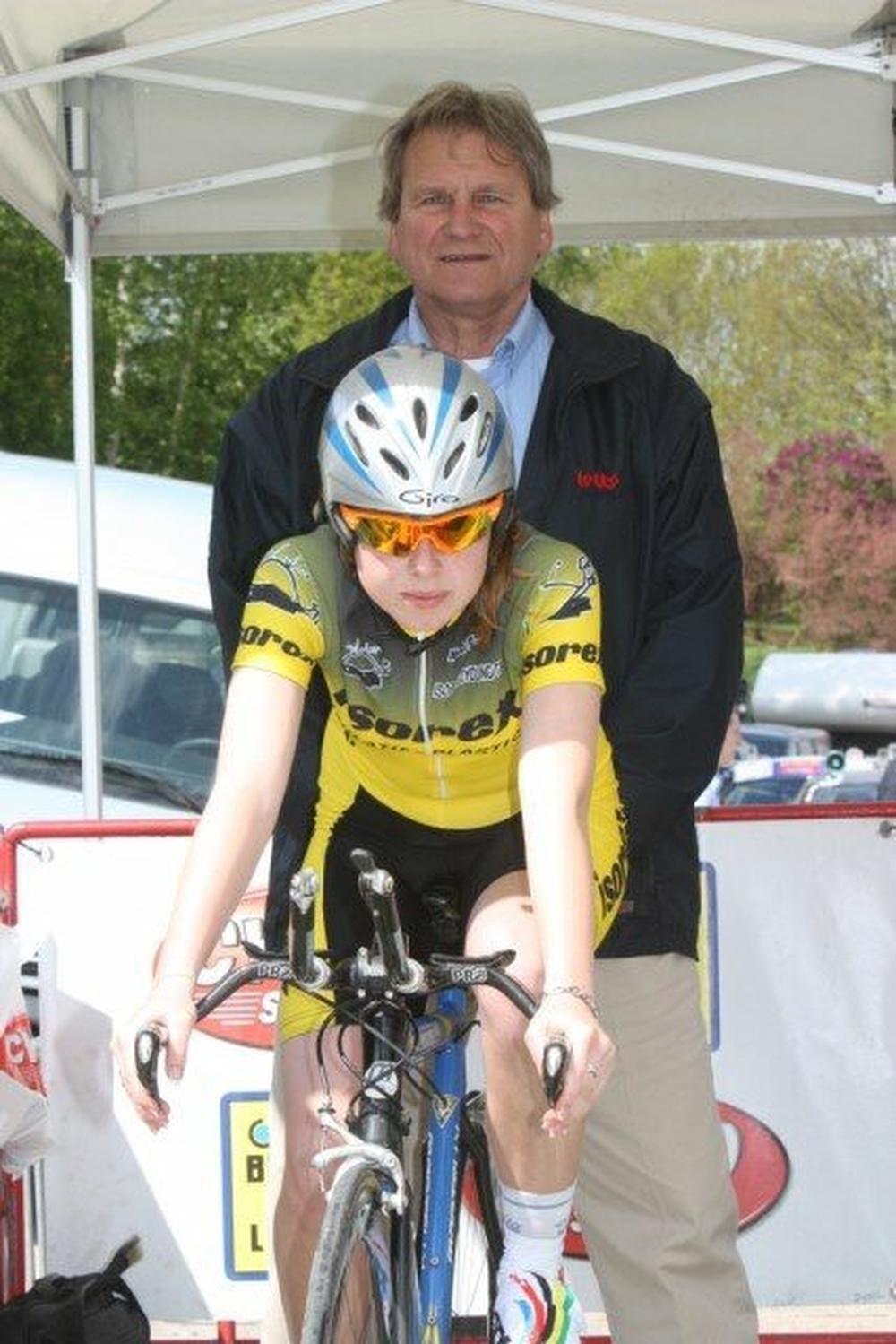 Naomi Van Coppernolle, ex-wielrenster én de sterke vrouw achter profrenner Dieter Bouvry