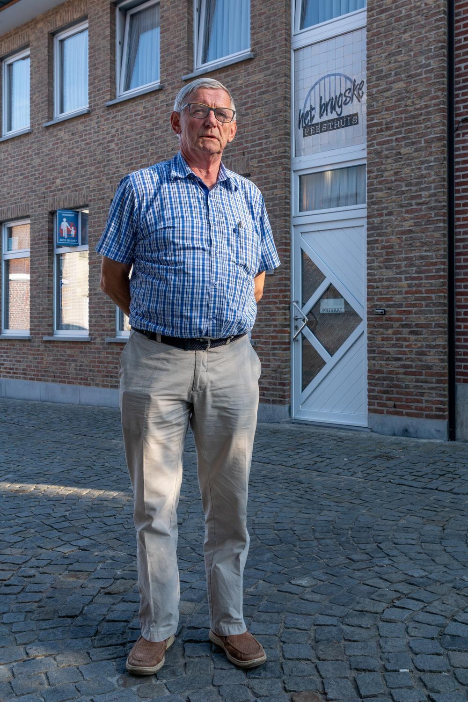 Jean-Pierre Gheysens, eigenaar van 't Brugske.