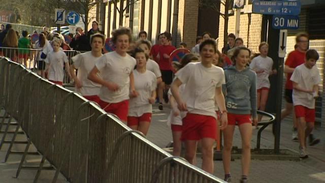 Eva Daeleman jogt samen met College Waregem voor goede doel