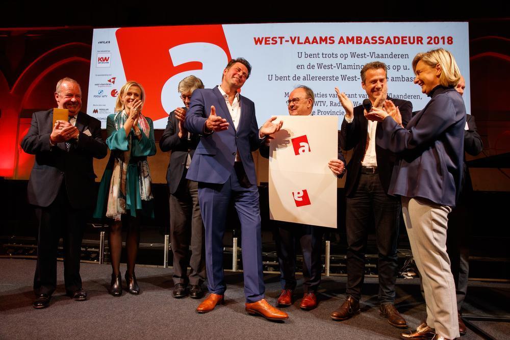 Wim Lybaert is de alleereerste West-Vlaams Ambassadeur .