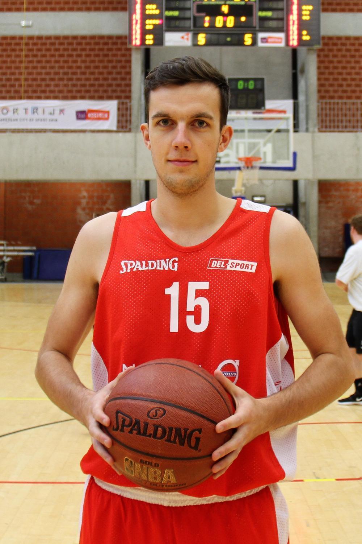 Louis Turpyn (Kortrijk Sport). (Foto JVGK)