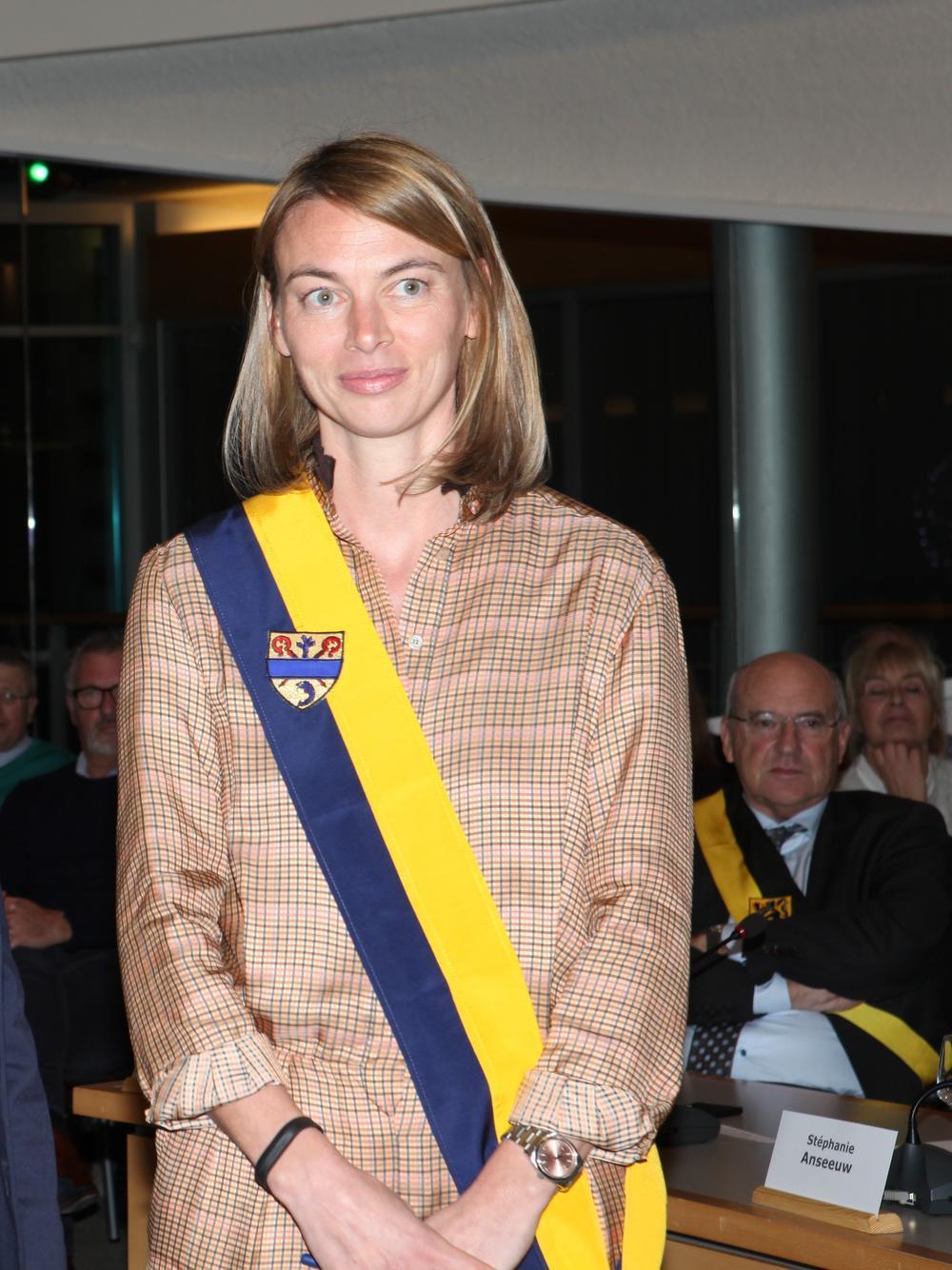 Charlotte Castelein wordt voorzitter van de gemeenteraad.