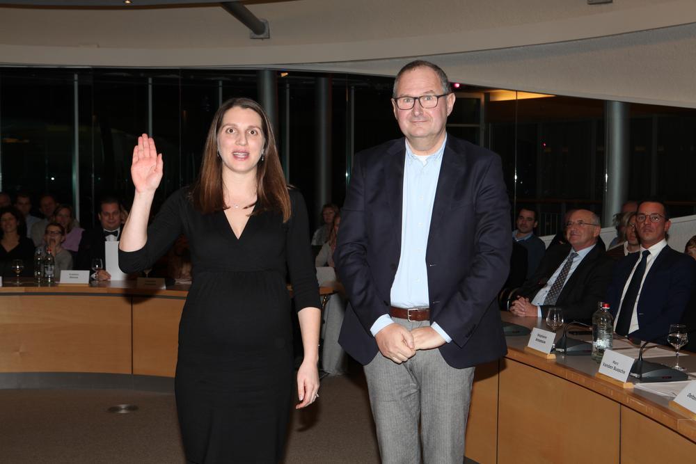 Julie Paelinck is de nieuwe fractieleidster van de Lijst Burgemeester.