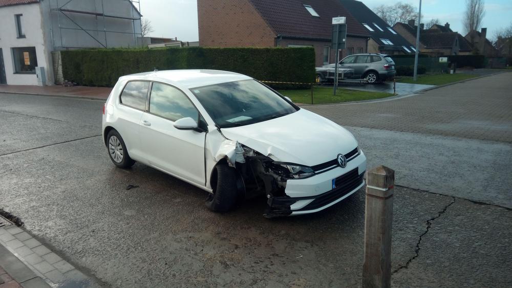 Het laatste ongeluk in de Zandvoordedorpstraat dateert van 9 januari.