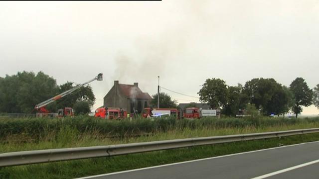 Slachtoffer van woningbrand in Oudenburg overleden