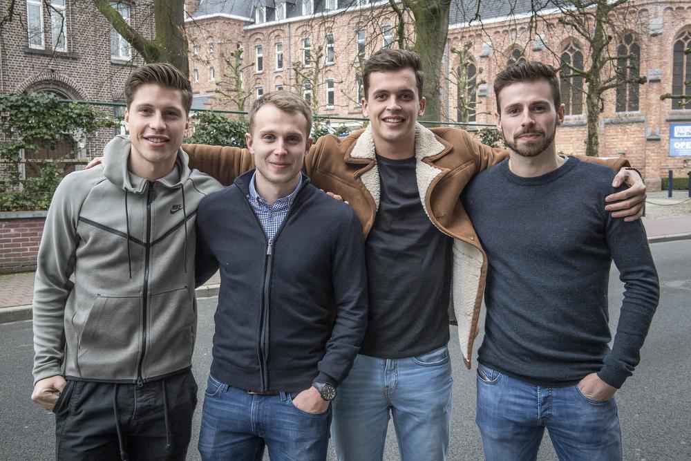 Aaron Vanfleteren, Michiel Clyncke , Daan Debouver en Nicholas Tasmin komen samen met Sofiane Oumedjeber in aanmerking voor de titel van beste speler van tweede amateurklasse.