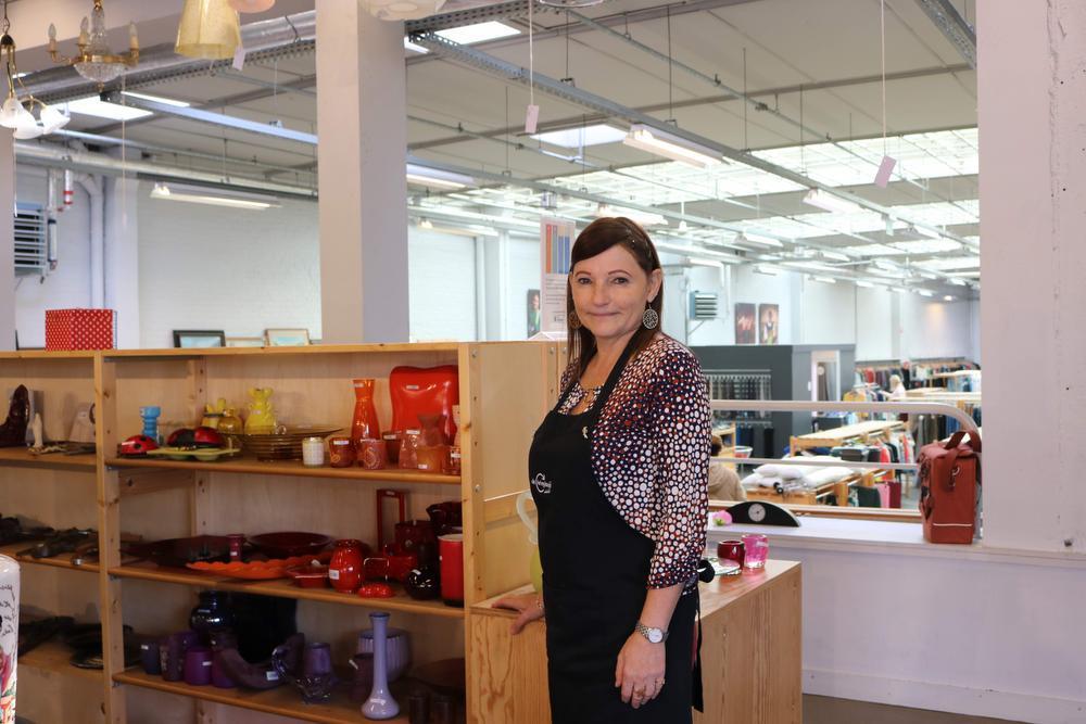 Kassamedewerker Rosita De Cloet.