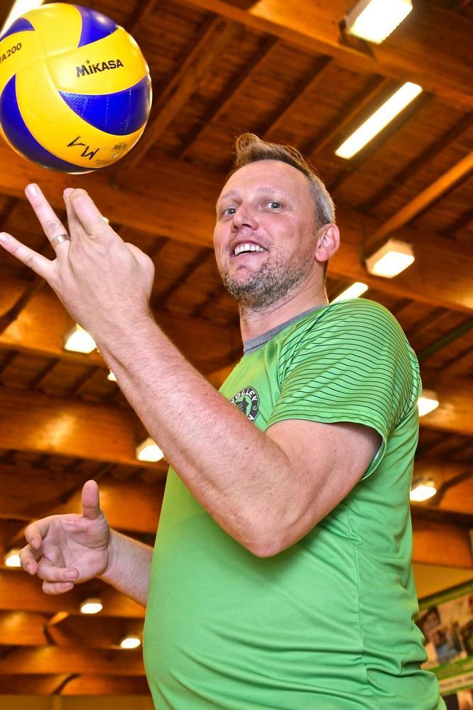Volleyicoon Frank Depestele: