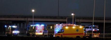 Vijf gewonden bij ongeval op nieuwjaarsochtend in Geluwe