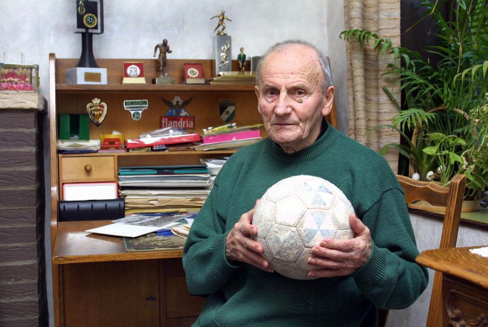 Wijlen Hector Tanghe, klein van gestalte, maar een grote meneer in de jarige club.