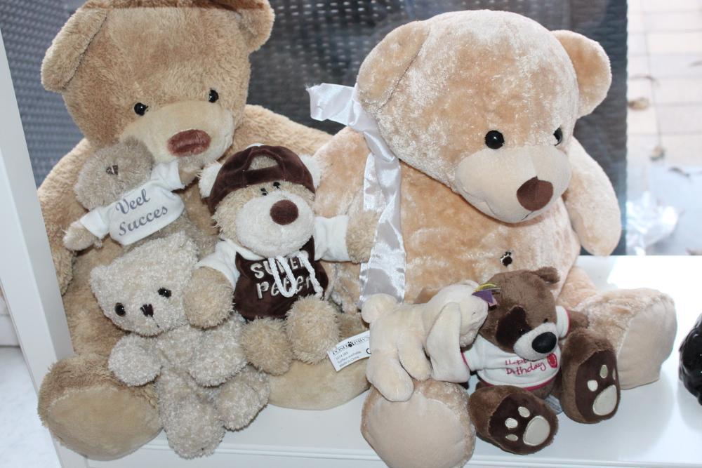 Aan haar optredens houdt Miss Zarina een collectie beren, gekregen van fans, over die een ereplaats hebben in de woonkamer.