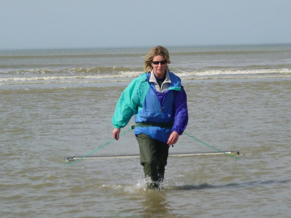 Begaan met onze aarde helpt Ingeborg als vrijwilliger bij Seawatch die opzoekingen doet naar de veranderingen in de zee.