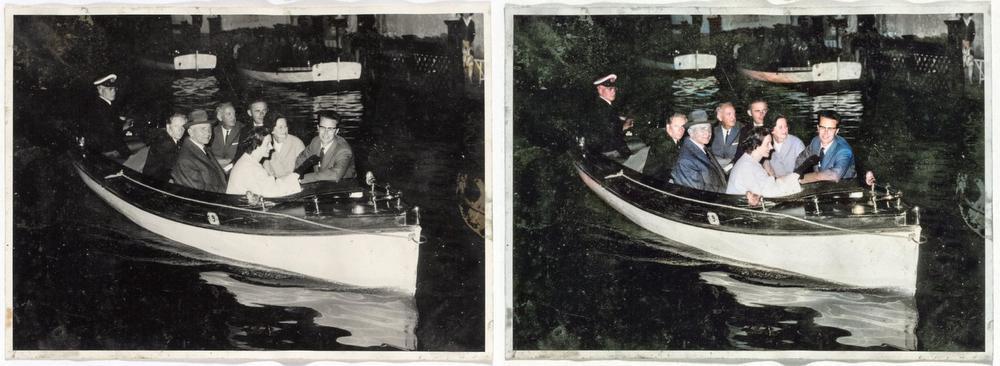 IN BEELD - Bruggeling geeft historische zwartwitfoto's kleur