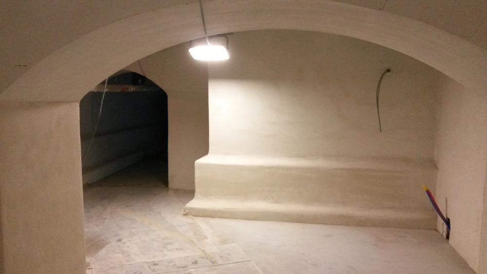De kelders van het stadhuis werden uitgegraven, vergroot en uitgebreid. Hier moet de werking van het stadsarchief komen en de verhalenschat van Diksmuide en de Westhoek. (Foto TVDA)