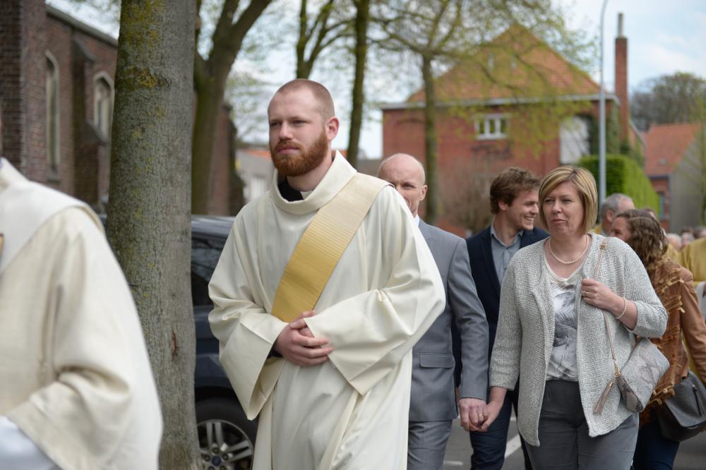 Diaken Matthias Noë tot priester gewijd