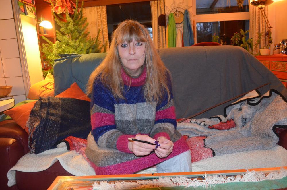 Liliane Velghe blijft hoop hebben op een goede afloop. (Foto TOGH)