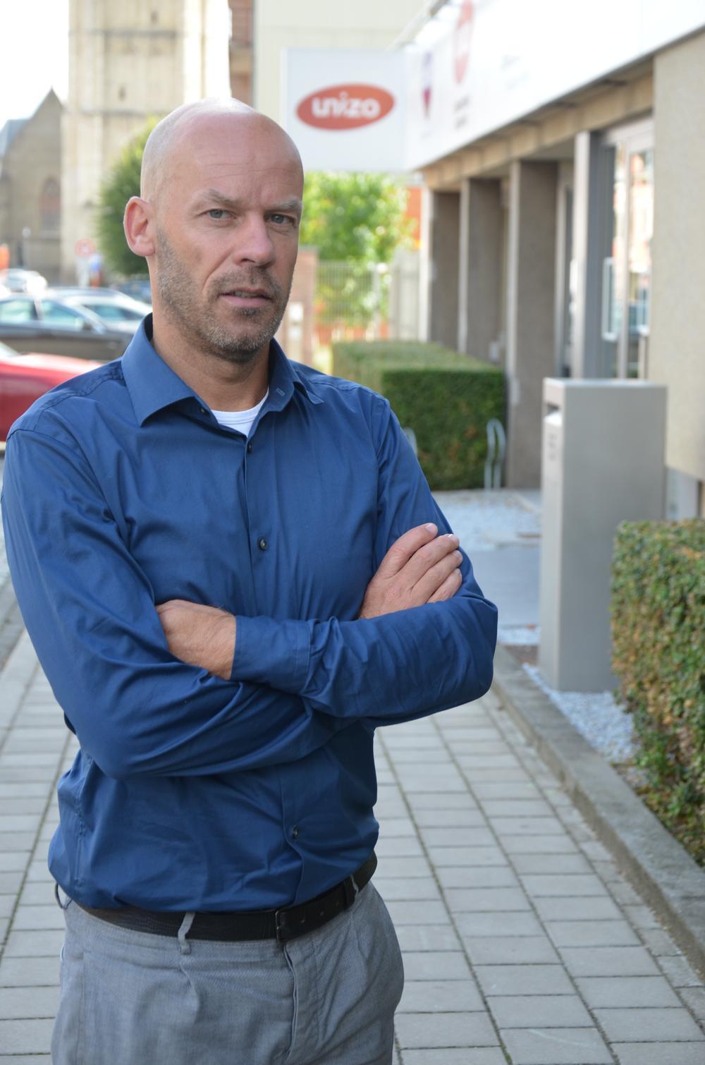 Directeur Frederik Serruys van Unizo West-Vlaanderen.