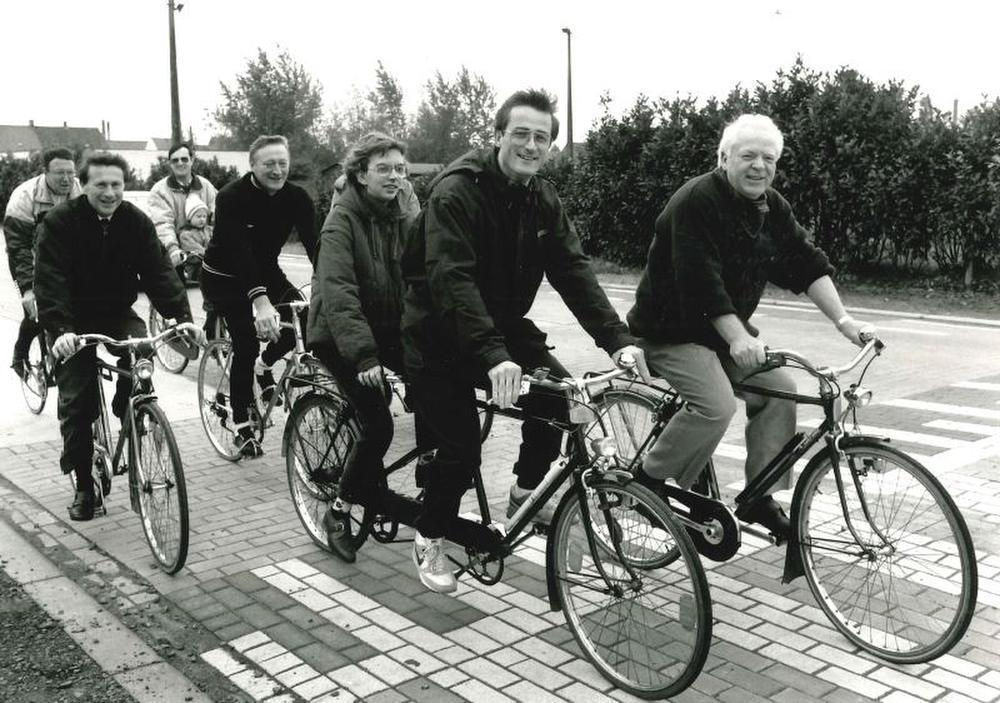 Geert Bourgeois vormde met oud-burgemeester Willy Verledens een perfecte tandem, zegt hij zelf. (GF)