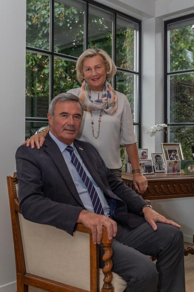 Hendrik Verkest en zijn echtgenote Mia Verschuere.