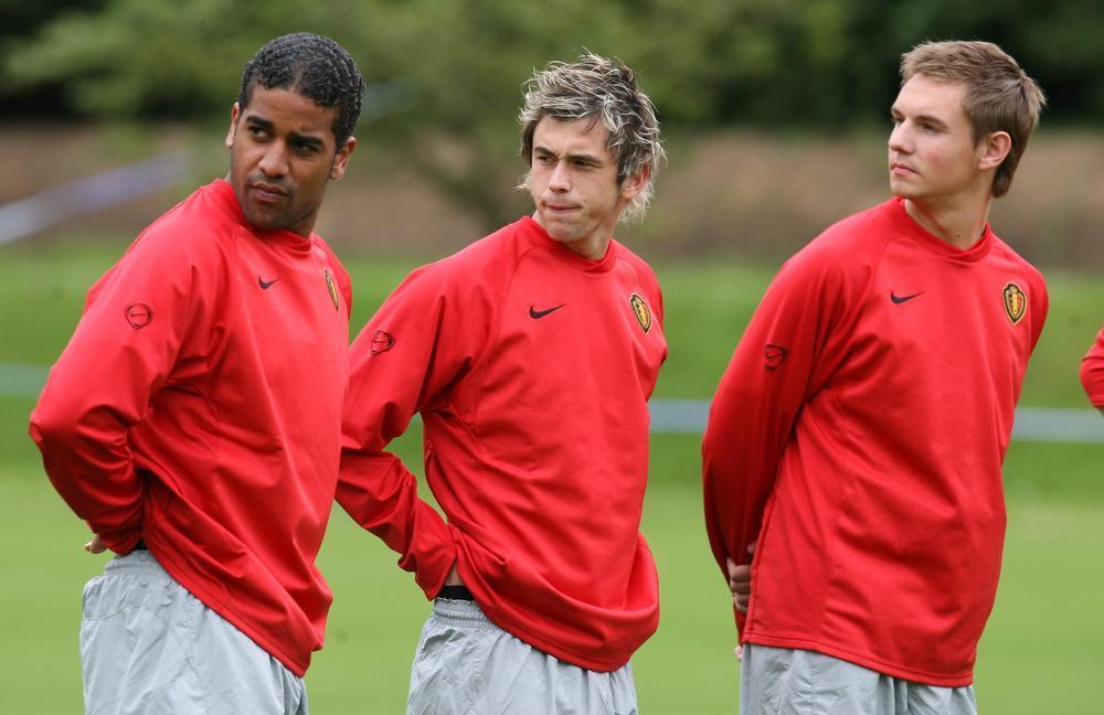 Wie passeert daar lijken Jason Vandelannoite, Steven Defour en Kevin Vandenbergh te denken aan de vooravoind van een interland tegen Turkije in mei 2006.