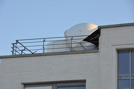Koepel van Koksijdse sterrenwacht weggeblazen