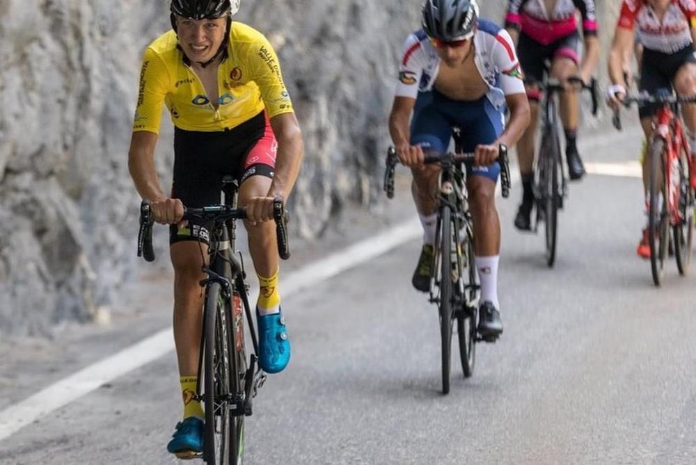 Mauri Vansevenant werd in juli eindwinnaar van de Giro della Valle d'Aosta met een voorsprong van 4'30
