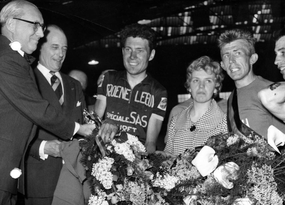 Armand Desmet won in Giro 1962 bergrit aan klooster van Montevergine