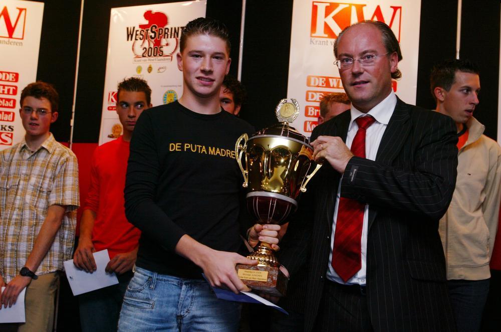 In 2005 won Frederiek Nolf WestSprint, het regelmatigheidsklassement van deze krant, bij de nieuwelingen. (foto a-RN)