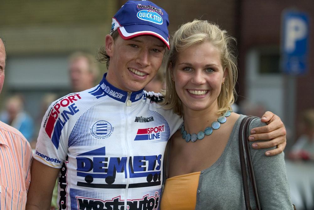 Frederiek was al 2,5 jaar samen met zijn vriendin Sharon. (foto Photopress)