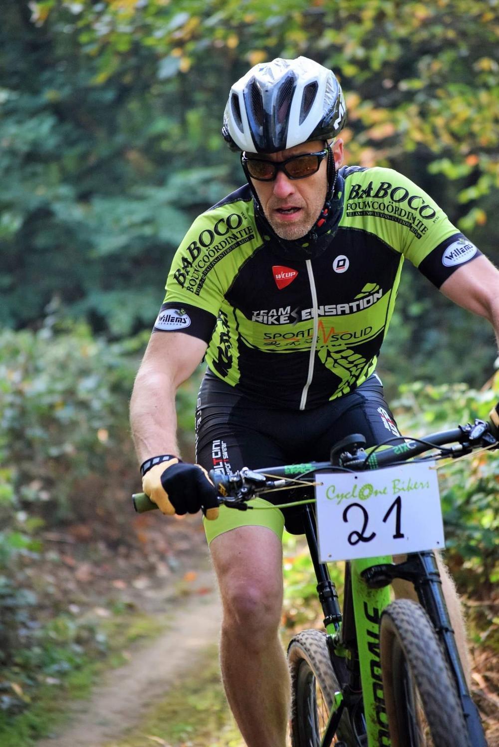Dirk Baert is de zaakvoerder van fietsenwinkel Bikesensation. (foto gf)