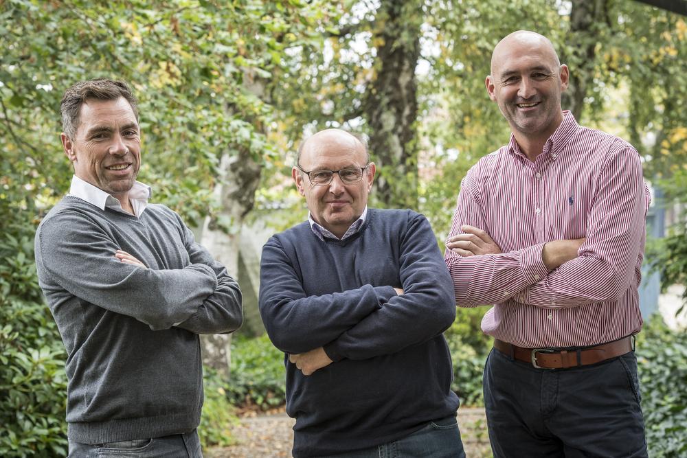 De jury van IJzeren Briek 2017: Nico Eeckhout, Michel Pollentier en Hans De Clercq.