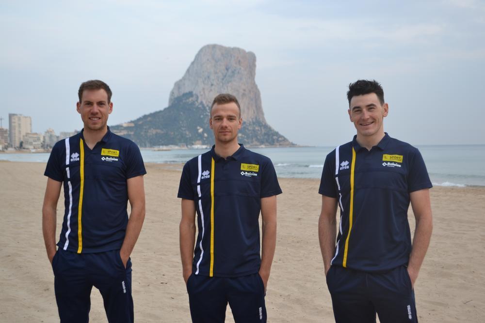 Benjamin Declercq, Kevin Deltombe en Christophe Noppe koersen al sinds hun twaalfde samen