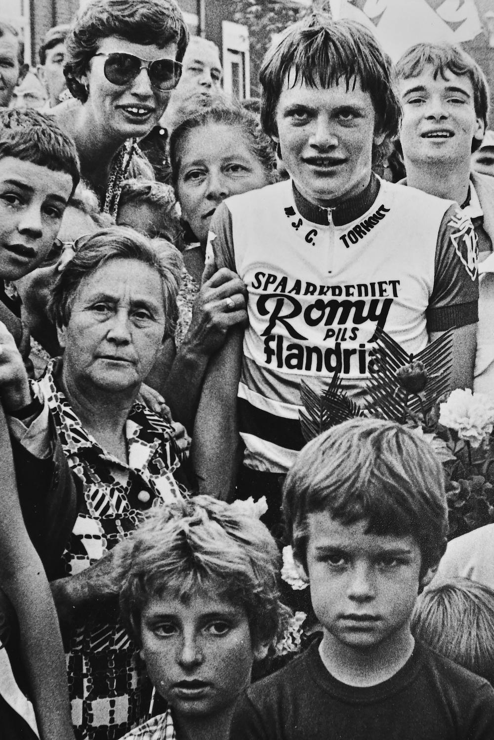 Filiep Soenen won twee keer de Wielertrofee als junior.