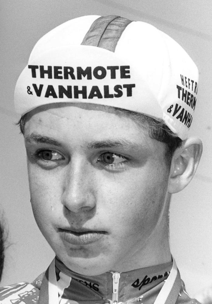 De jonge Stijn Devolder.